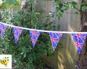 Bunting 5m Union Jack Fabric