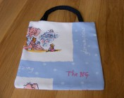 Mini Tote Bag Roald Dahl BFG Fabric