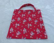 Mini Tote Bag Cath Kidston Red Sprig