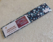 Name Plate Kit 30cm Blue with White Stars Fabric