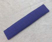 Name Plate Kit 30cm Purple with White spots