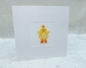Handmade Felt Card – Yellow Chick