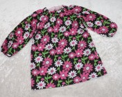 Art Smock 4-6yrs Flower Fabric