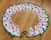 Bunting 5m Polka Dot & Balloon Fabric