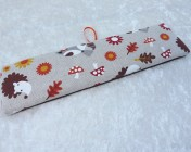 Name Plate Kit 24cm Fox & Hedgehog Fabric