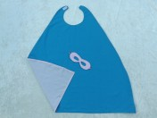 Superhero Cape & Mask Older Childs Pink/Turquoise