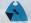 Reversible Mini Superhero Cape and Mask, Black & Turquoise