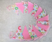 Bunting Cath Kidston Floral, Orchid Pink