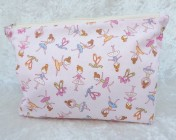 Zipped Bag – Pink Ballerina