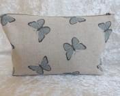 Zipped Bag – Blue Butterflies