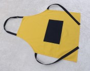 Apron Adult – Yellow/Navy Polycotton Drill