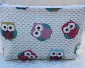 Zipped Bag – Owls
