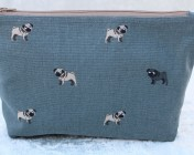 Zipped Bag – Sophie Allport Pugs