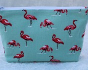 Zipped Bag – Flamingo