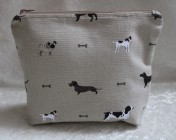 Zipped Bag – Sophie Allport Woof – Dogs