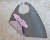 Superhero Cape & Mask Teddy Bear Silver/Pink