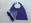Reversible Teddy Superhero Cape and Mask, Purple & Mauve