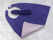 Superhero Cape & Mask Teddy Bear Purple/Pink