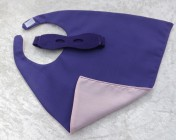 Superhero Cape & Mask Teddy Bear Purple/Pink