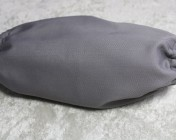 Face Mask, Grey polycotton Drill Fabric