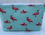 Zipped Bag – Flamingo
