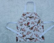 Apron Younger Childs in Cath Kidston British Birds Fabric
