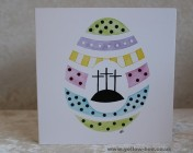 Greetings cards Notelets 5 Printed from an original watercolour EASTER EGG