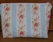 Zipped Bag – Cath Kidston Floral Stripe