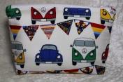 Zipped Bag – Cream Camper Van