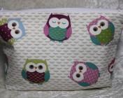 Zipped Bag – Owls