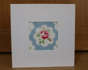 Greetings Card – Cath Kidston Provence Rose Blue