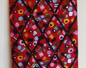 Memo Board, Red Liquorice Allsort