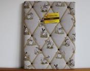 Memo Board, Hare Fabric