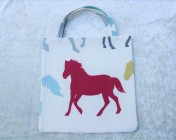 Tote Bag – Stampede Horse Fabric