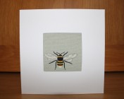 Greetings Card – Sophie Allport Bees Fabric