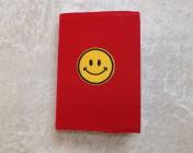 Covered Notebook – A6 Emoji Motif (Reversible)