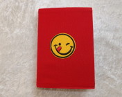 Covered Notebook – A6 Emoji Motif (Non-reversible)