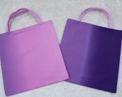 2 Tote Bags – Purple Ombre Fabric & Pink Ombre Fabric