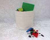 Fabric Basket – Cream Fabric