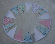 Bunting 2m Mixed Bunting bunting with Cath Kidston, Cupcake, Ballerina