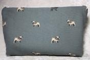 Zipped Bag – Sophie Allport Pugs