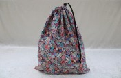 Drawstring Bag – Cotton Reels Fabric