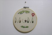 Embroidery Hoop Wall Art Embroidery Hoop Mum