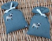 Lavender Bag – 2 Sophie Allport Pugs