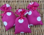 Lavender Bag – 3 Pink Spotty
