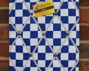 Memo Board, Blue Check