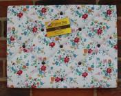Memo Board, Cath Kidston Clifton Rose White (Landscape)
