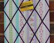 Memo Board, Laura Ashley Clementine Stripe