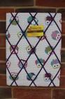 Memo Board, Owls Purple Straps