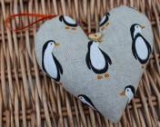 Lavender Heart – Penguins
